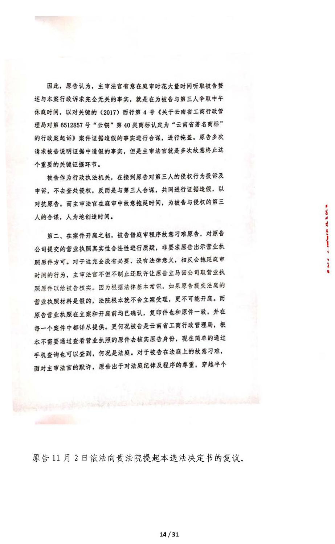 关于审判长回避申请决定书错误及法院处理过程违法的抗议申诉书(定稿)_页面_14.jpg