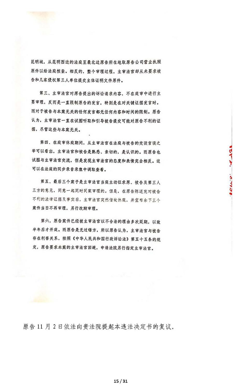 关于审判长回避申请决定书错误及法院处理过程违法的抗议申诉书(定稿)_页面_15.jpg